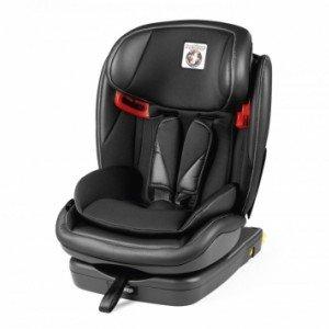 صندلی ماشین peg perego مدل Viaggio 1⋅2⋅3 Via رنگ licorice