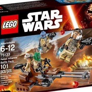 لگو Rebel Alliance Battle Pack کد 75133