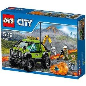 لگو Volcano Exploration Truck legoکد 60121