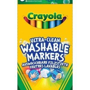 ماژیک قابل شست و شو 8 رنگ ultra کودک crayola کد 8330
