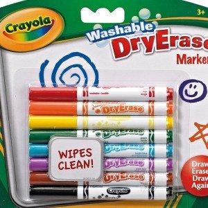 ماژیک قابل شست و شو 8 رنگ کودک crayola کد 2002