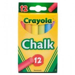 گچ رنگی کودک 12عددی crayola