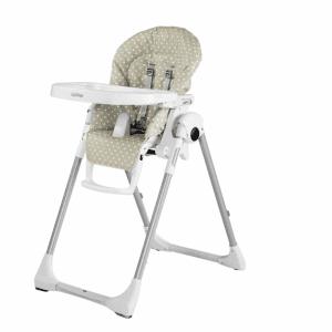 صندلی غذا peg perego مدل Prima Pappa zero3  طرح babydot beige