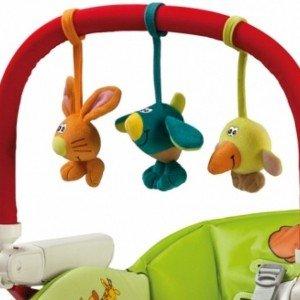 آویز اسباب بازی برای صندلی غذا peg perego