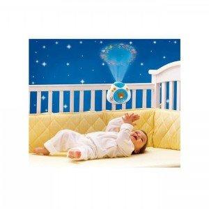 ارامش کودک با چراغ خواب موزیکال