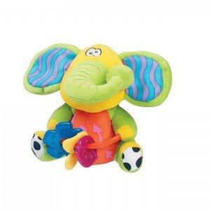 فیل جغجغه ای پولیشی playgro کد 5595