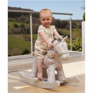 خرید راکر اسب کودک چوبی کودک هدیه تولد