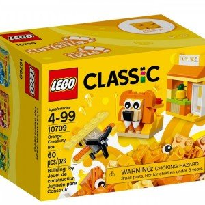 orange creativity box lego 10709
