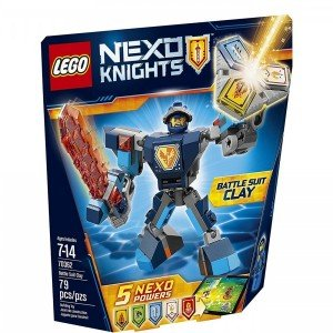 Knights Battle Suit Clay lego 70362