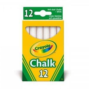 گچ سفید کودک 12عددی crayola