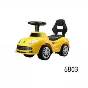 ماشین پایی فراری زرد موزیکال 6803