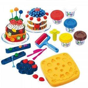 ست خمیربازی کیک playgo کد 8205