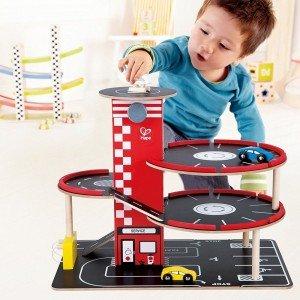 پارکینگ طبقاتی کودک برندRaceAround Parking Garage hape کد 3022