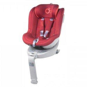 صندلی ماشین هوشمند Be Cool مدل I-SIZE700 رنگ  COEUR WHITE SERIES RED182