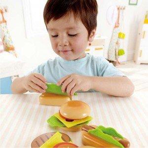 ست ساندویچ چوبی کودک کد 3112