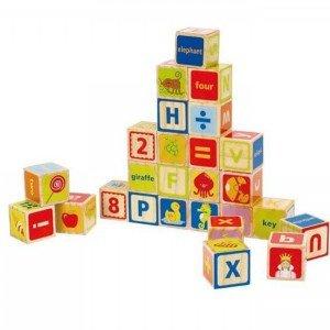 بلوک چوبی کودکABC Blocks hape کد 0419