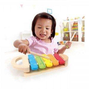 بلز کودک rainbow xylophone hape  بهترین هدیه برای کودکان