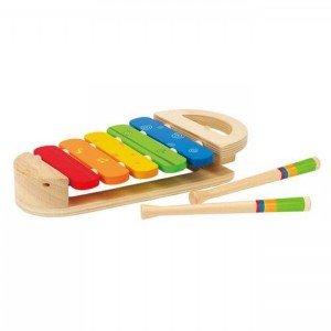 صفحه بلز کودک rainbow xylophone hape  مدل 0302