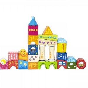 جورچین چوبی کودک fantasia blocks hape 0418