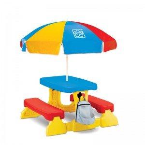میز و نیمکت چتر دار Picnic Table grown up کد 30172