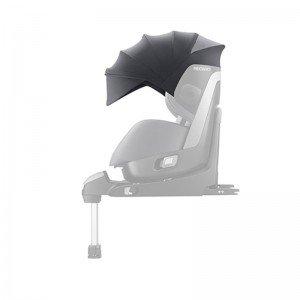 سایبان صندلی ماشین ریکارو مدل canopy zero1 recaroرنگ Aluminium Grey