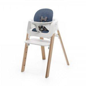 'ست کامل صندلی و صندلی غذای stokke steps