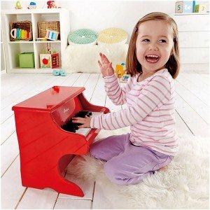 بازی و سرگرمی با پیانو چوبی کودک playful piano hape 0318