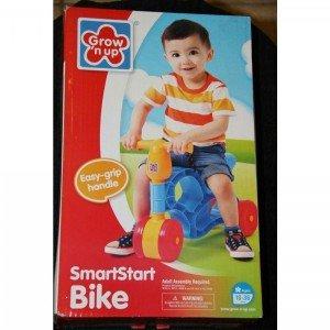 سه چرخه پایی SmartStart Bike grow'n up  كد 1006