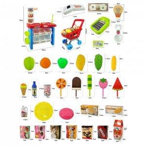 ست صندوق فروشگاهی کودک کد 22-668