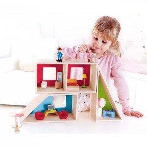 خانه عروسک مدرن چوبی Geometric House hape 3404
