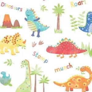کاغذ دیواری انگلیسی اتاق کودک - تاینی تاتز  G45129 tiny tots