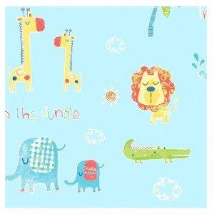 کاغذ دیواری انگلیسی اتاق کودک - تاینی تاتز  G45146 tiny tots