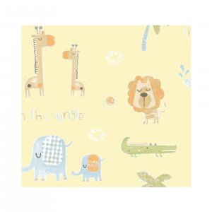 کاغذ دیواری انگلیسی اتاق کودک - تاینی تاتز  G45147 tiny tots