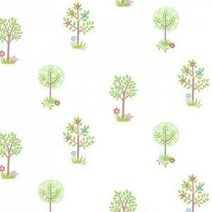 کاغذ دیواری انگلیسی اتاق کودک - تاینی تاتز  G45164 tiny tots