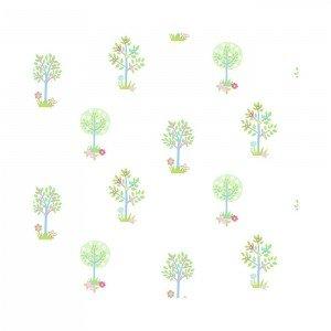 کاغذ دیواری انگلیسی اتاق کودک - تاینی تاتز  G45165 tiny tots