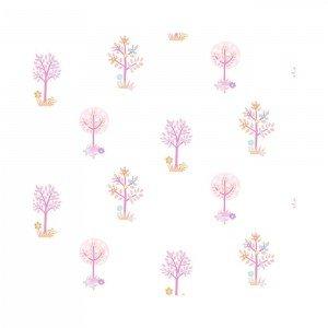 کاغذ دیواری انگلیسی اتاق کودک - تاینی تاتز  G45166 tiny tots
