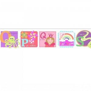 بوردر کاغذ دیواری اتاق کودک - tiny tots 90111