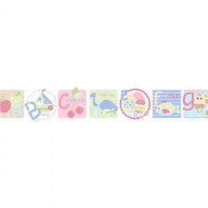 بوردر کاغذ دیواری اتاق کودک - tiny tots 90112