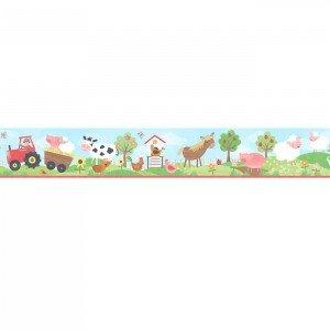 بوردر کاغذ دیواری اتاق کودک - tiny tots 90116