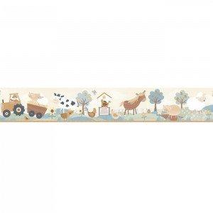 بوردر کاغذ دیواری اتاق کودک - tiny tots 90118