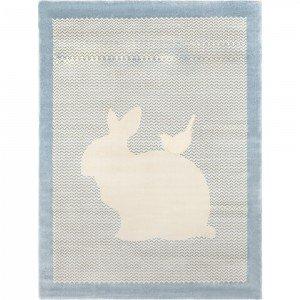فرش اتاق کودک saint clair طرح  خرگوش آبی کد 90115034