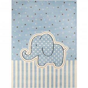 فرش اتاق کودک saint clair طرح فیل آبی کد 90115006