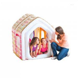 قیمت کلبه کودک بادی با مبل و میز Intex طرح پرنسس کد 48635