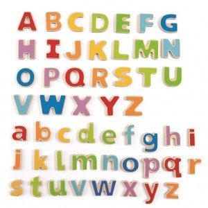 حروف انگلیسی مگنتی hape مدل   1047