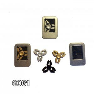 اسپینر 3 پر شیار دار طلایی کد 6031