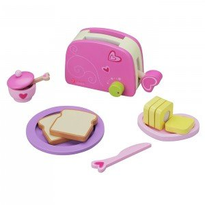 اسباب بازی چوبی classic world مدل 4115 toaster set