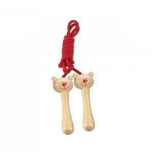 طناب چوبی خرسی Classic World مدل Bear Skipping Rope 4610