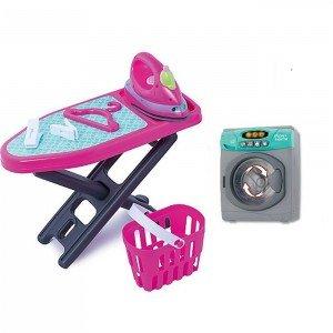ست ماشین لباسشویی و اتو کودک keenway کد 21671