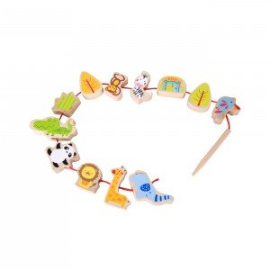 باغ وحش چوبی classic world  Zoo Beads کد 3632