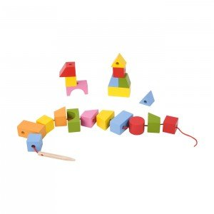 اشکال هندسی چوبی classic world  Blocks Beads مدل 3631
